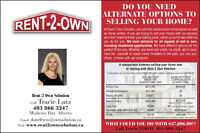 DO YOU NEED ALTERNATE OPTIONS TO SELLING YOUR HOME?