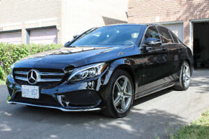 Mercedes C300 sports 2016 lease transfer takeover only 8 months