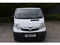 2.0 2700 CDTI 5D 113 BHP SWB DIESEL MANUAL PANEL VAN 2011