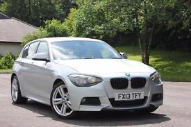 2013 BMW 1 SERIES 118D M SPORT HATCHBACK DIESEL