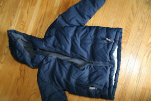 GAP - Navy Blue Down Filled Winter Jacket - M (8)