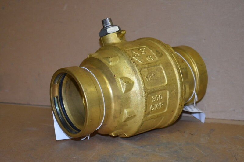 "Ball Valve, 3"", Euro-Press XLC, Water, Full Port, 300 PSI, Rubinetterie"
