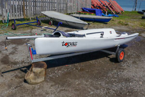 2012 Topper Topaz Race X - Dinghy Sailboat