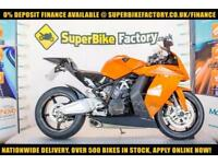 2012 12 KTM RC8 1190CC 0% DEPOSIT FINANCE AVAILABLE