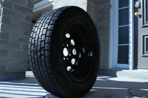 1x Yokohama Winter Tire 185/65 R14 with Rim  $35