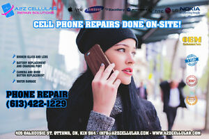 EXPRESS REPAIR ON THE GO★IPHONE★SAMSUNG★LG★HTC★613.422.1229