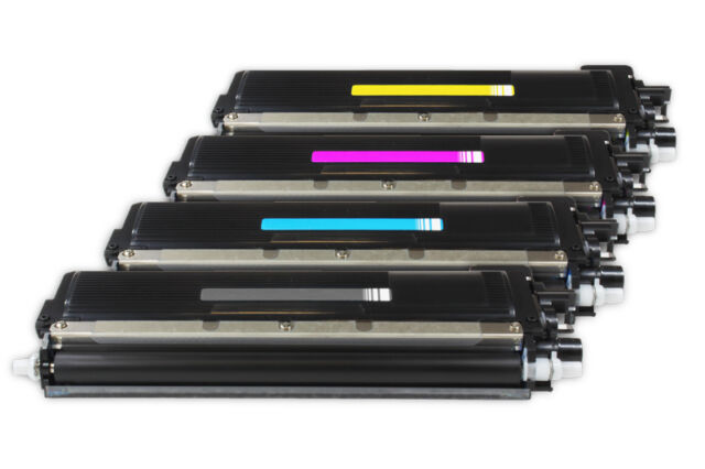 4 x Colour Toners Non-OEM For Brother MFC9840CDW, MFC 9840CDW
