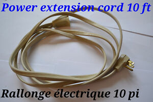 Rallonge électrique. Power extension cord.