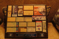 """Hockey At Its Best"" ...18 framed ticket stubs"