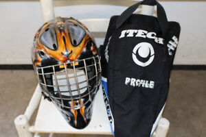Goalie Mask and Bag for Sale