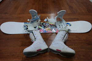 Firefly Snowboard (130cm), Bindings, and Boots [Limited Offer]