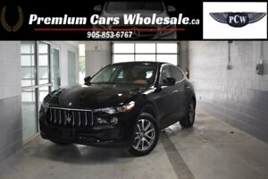 2017 Maserati Levante NAVI / ONLY 16000KM / PANO ROOF / LEATHER