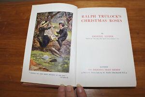 Ralph Trulock's Christmas Roses 1924 Religious Tract Society London Ontario image 2