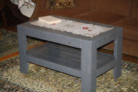 Handmade Coffee Table from Reclaimed Wood