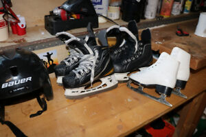Kids skates size 10 and 11