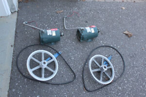 1/6 HP used electrical motor