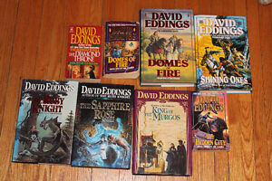 david eddings lot of 8 books
