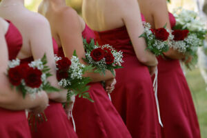Bridesmaid and Mother-of-the-bride Custom-Made Dresses