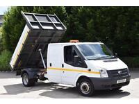 2.2 350 DRW 4D 125 BHP DOUBLE CAB TWIN WHEEL RWD EURO 5 TIPPER 2013