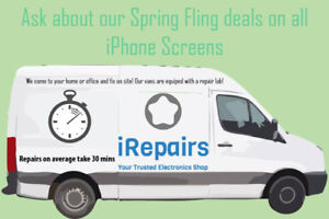 Cell Phone Repairs at your home or office - Original Screens