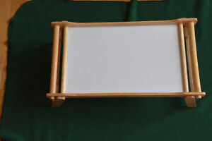 WOOD FOLDABLE LAPTOP TRAY or BREAKFAST SERVING TRAY
