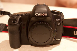 Canon 5D Mark II camera body in excellent condition!