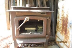 Air Tight Cast Iron Wood Stove