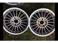 """BMW genuine ALPINA 17"""" alloy wheels E36 E46 E39"""