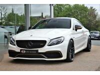2017 Mercedes-Benz C Class 4.0 C63 V8 BiTurbo AMG S (Premium) SpdS MCT (s/s) 2dr
