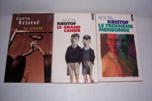 3 livres de Agota Kristof