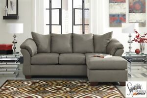 2PC Grey Sectional