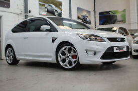 Ford Focus ST3, 59 Reg, Only 46k, Dreamscience Stage 1, Frozen White, FSH.
