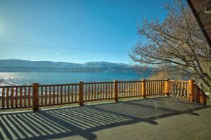 Okanagan Lakeside Chalet c/w Bare Building Lot