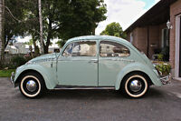 1965 Volkswagen Beetle // Bahama Blue // West Coast Car