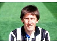 Evening with Peter Beardsley