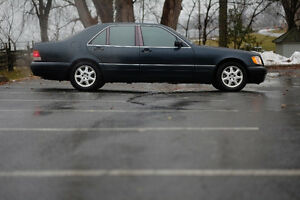 1996 Mercedes-Benz S-Class S320 Sedan