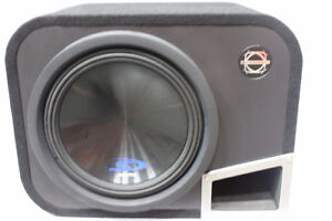 Alpine Type-S 12in Sub w/Bassworx HPR12 Enclosure - NEW