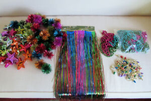 Purple, Turquoise, Gold, Green Christmas Decorations