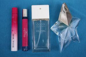 Perfume lot: Chanel, Angel, Atelier Cologne, Hanae Mori