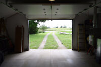 Heated Workshop And House with 2 driveways on Paved Road