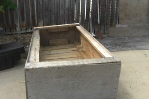 3 FT X 8 FT BOX FOR OUTDOOR STORAGE