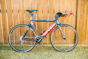 "Cevelo P3Carbon 54"" 2006 Triathlon Bike"