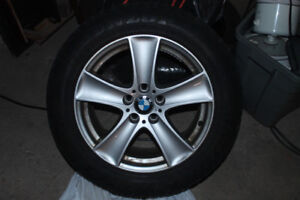 18 inch rims BMW x5 5x120 with good tires WHEELS RIMS TIRES