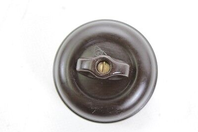 Old Bakelite Switch Light Switch Rotary Switch Exposed Ap Box Art Deco