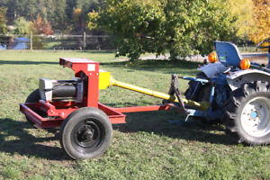 HD Tractor Driven Generator   on trailer with PTO Shaft