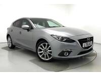 2015 Mazda 3 2.2d Sport Nav 5dr Auto Diesel silver Automatic