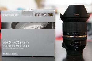 Tamron SP 24-70mm Di VC USD Nikon Mount