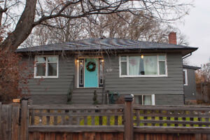 4 bed, 2 bath character home in downtown Kelowna!