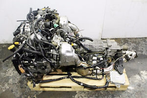 JDM 99-01 Subaru Legacy BH5 BE5 Twin Turbo 2.0L EJ20TT Engine