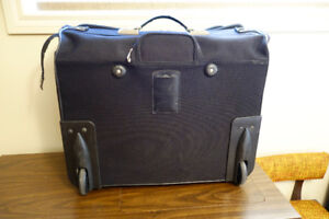 Luggage American Tourister Folding Garment Roller Suitcase